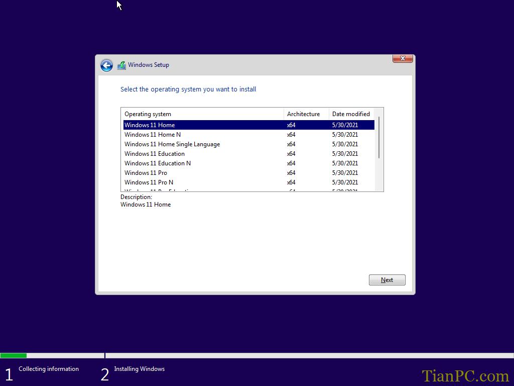 Windows11安装过程和UI界面(41张图片)